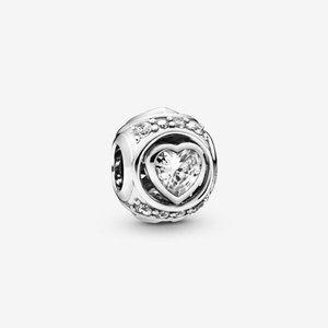 Pandora Elevated Heart Charm